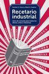 RECETARIO INDUSTRIAL LIBRO DE CONSULTA PARA TODOS
